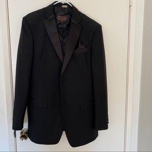 Rossini Black men's suit.